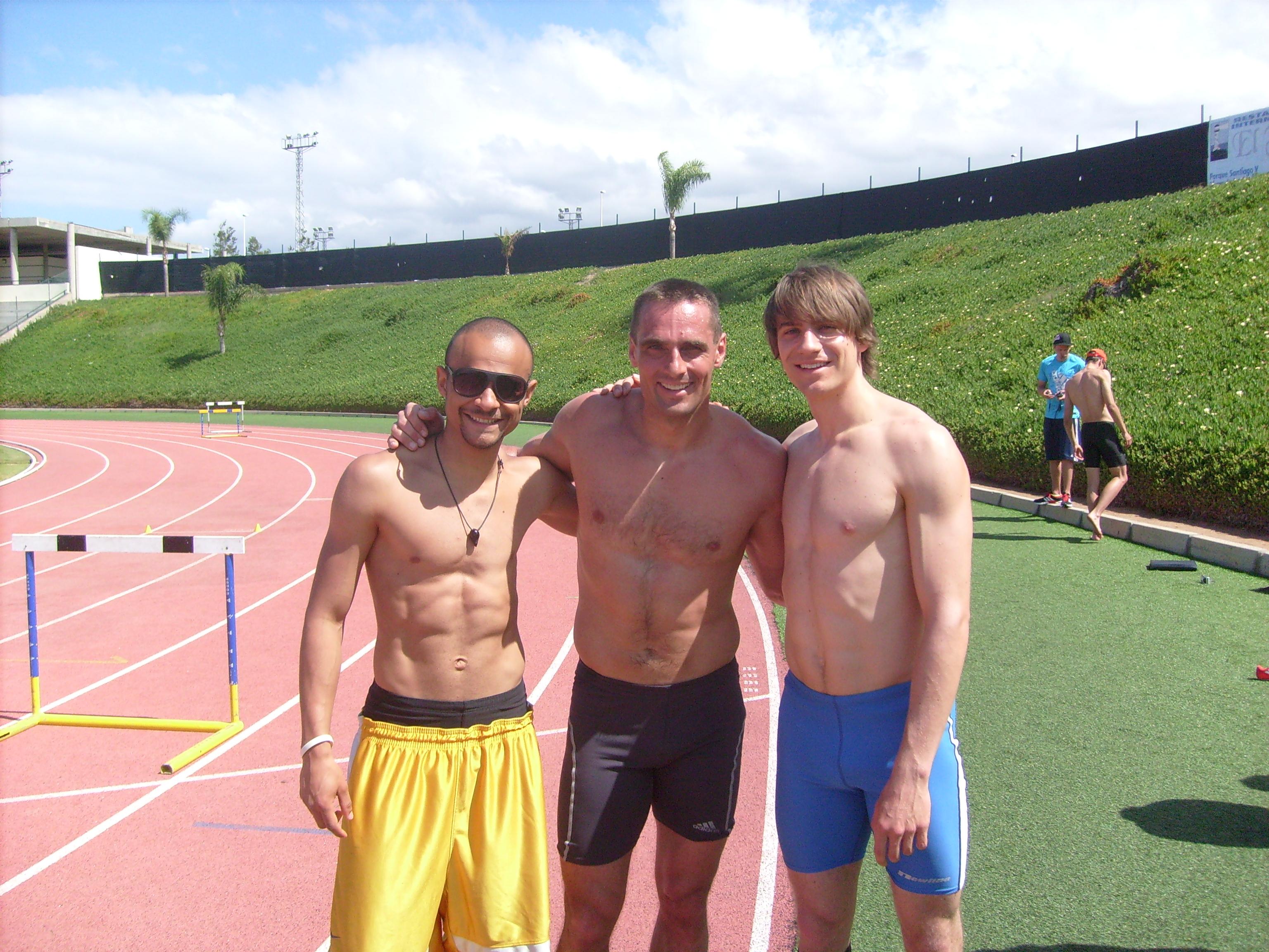 John Henry, Roman Sebrle, Fabian Sterzing