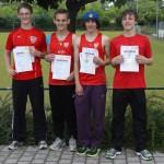 U18 Staffel Baden-Württembergischer Meister 2012
