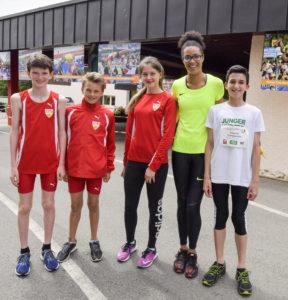 Foto: Tom Bloch/ Leichtathletik, Eberstadt, Eberstädter Hochsprung-Meeting, Hochsprung, Marie-Laurence Jungfleisch, VfB Stuttgart